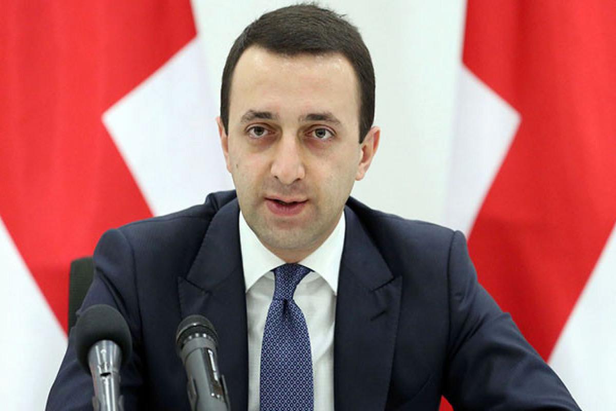 İrakli Qaribaşvili Saakaşvilinin həbsinə görə Ukraynaya təşəkkür edib