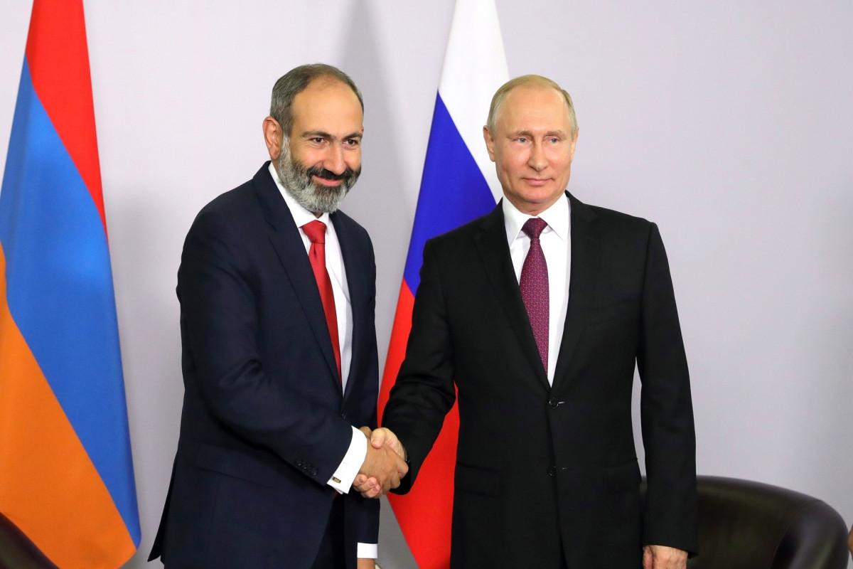 Putin və Paşinyan arasında yaxın vaxtlarda görüş keçiriləcək