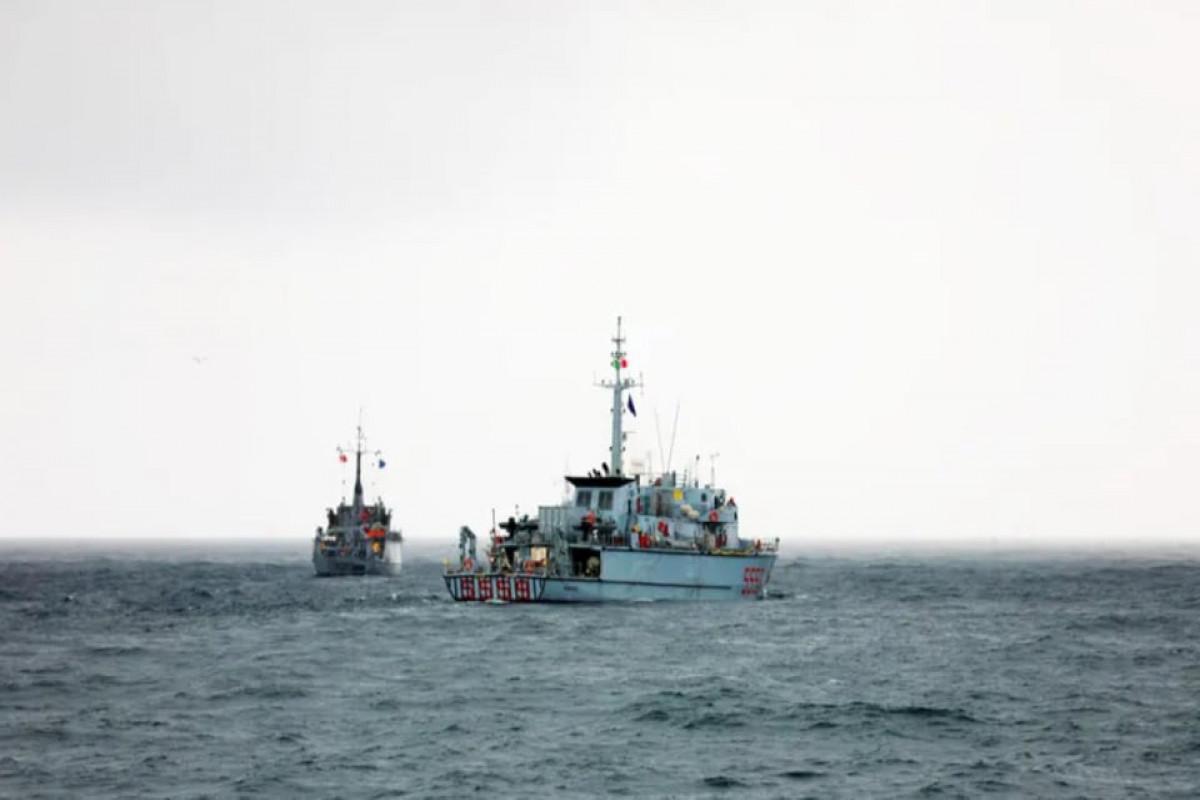 Qara dənizdə NATO və Gürcüstanın birgə təlimləri keçirilib