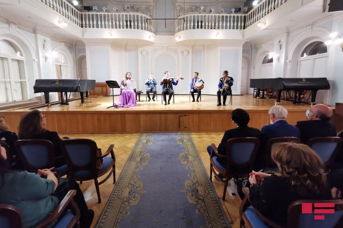 """""""Shushanın daghlari bashi dumanli"""" mugham night organized in Moscow"""