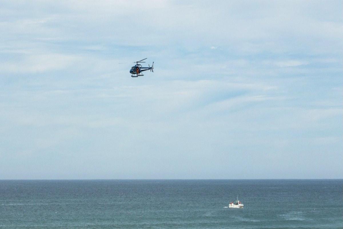 KIV: Kanadaya məxsus yük helikopteri qəzaya uğrayaraq okeana düşüb