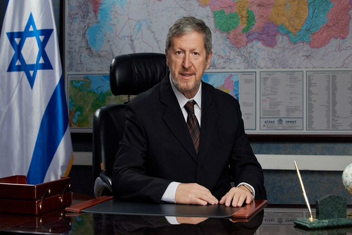 İsrailin Rusiyadakı səfiri Aleksandr Ben Zvi