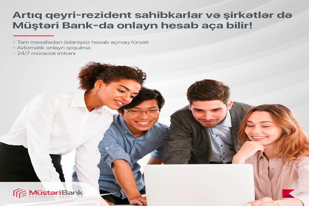 """""""Kapital Bank""""da qeyri-rezident sahibkar və şirkətlər üçün onlayn hesab açmaq imkanı yaradılıb"""