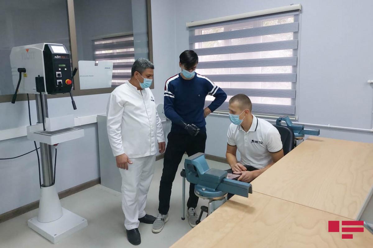 149 qazi son nəsil protezlərlə təmin edilib