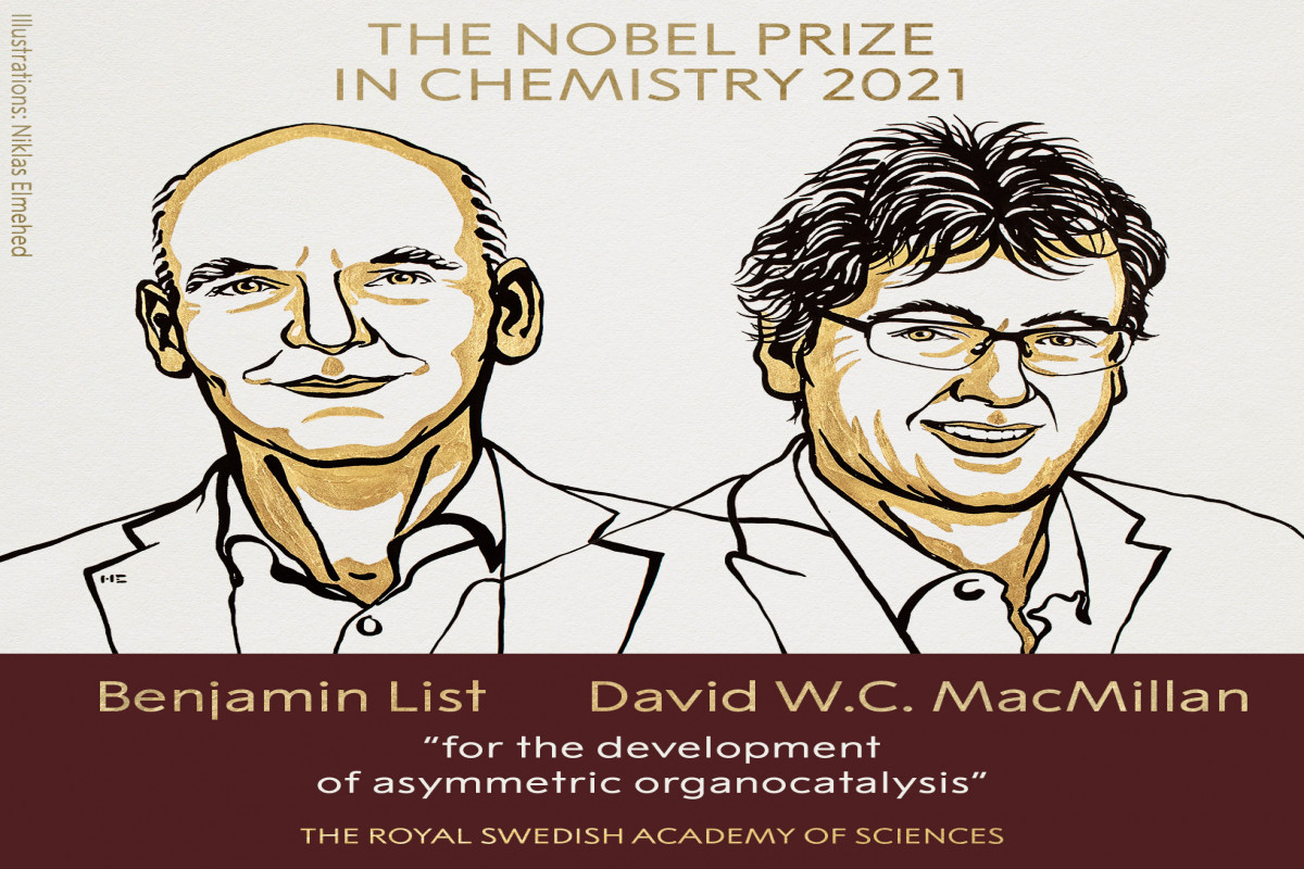 Kimya üzrə Nobel mükafatının qalibləri açıqlanıb