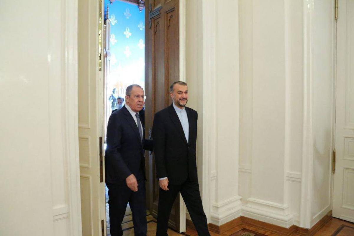 Sergey Lavrov,  Hüseyn Əmir Abdullahian
