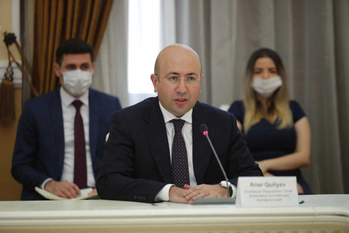 Dövlət Şəhərsalma və Arxitektura Komitəsinin sədri Anar Quliyev