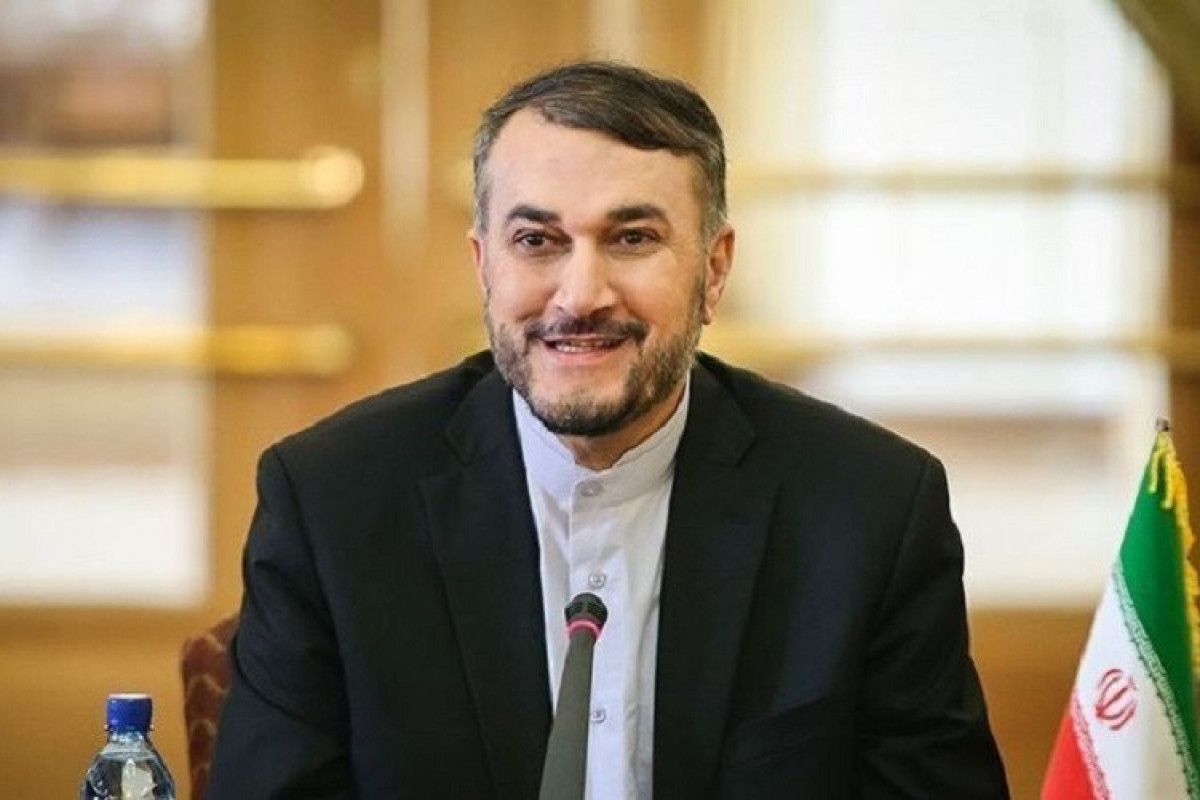 İranın xarici işlər naziri Hüseyn Əmir Abdullahiyan