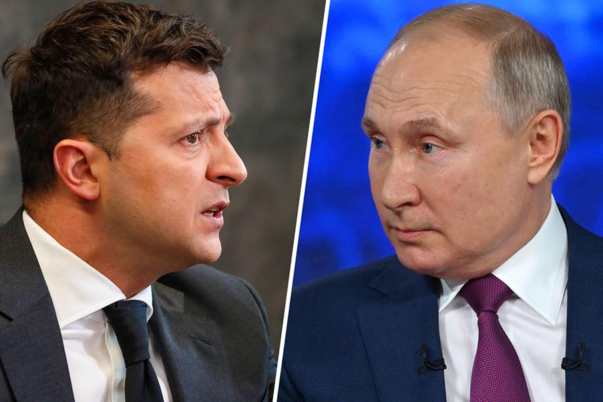 Rəsmi Kiyev Zelenski-Putin görüşü üçün şərt irəli sürüb