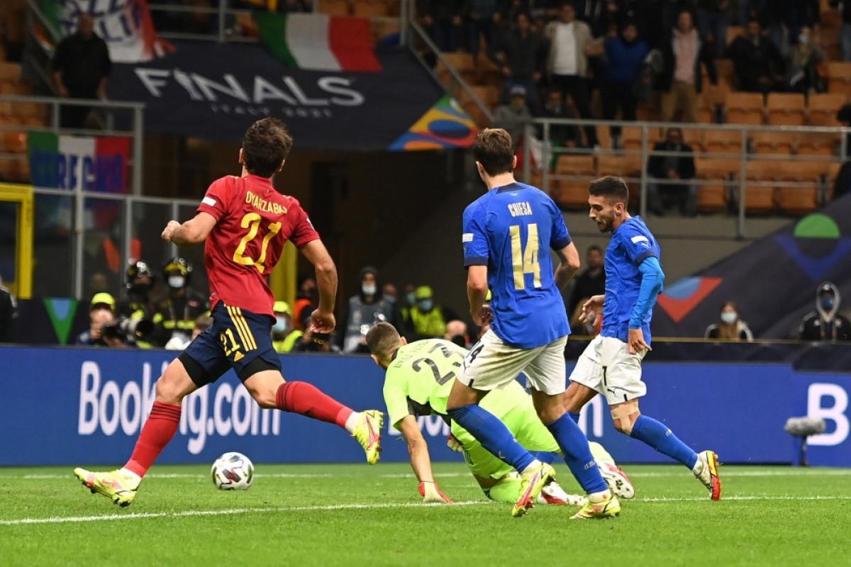 UEFA Millətlər Liqası:  İtaliyanın 3 illik məğlubiyyətsizlik seriyasına son qoyulub