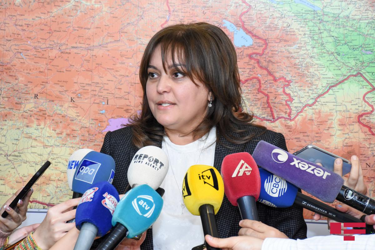 """Umayra Tağıyeva: """"Son altı gündə düşən yağıntı aylıq norma qədər olub"""""""