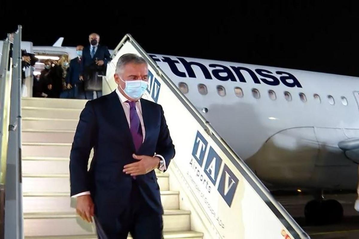 Çernoqoriya Prezidenti Gürcüstanda səfərdədir