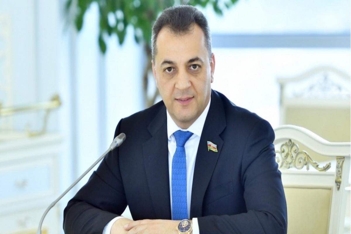 Milli Məclisin deputatı Vüqar İskəndərov