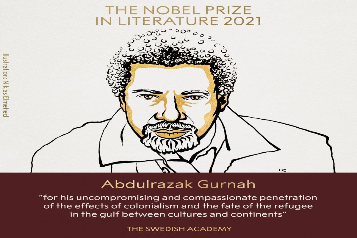 Abdulrazak Gurnah is awarded Nobel Prize in Literature