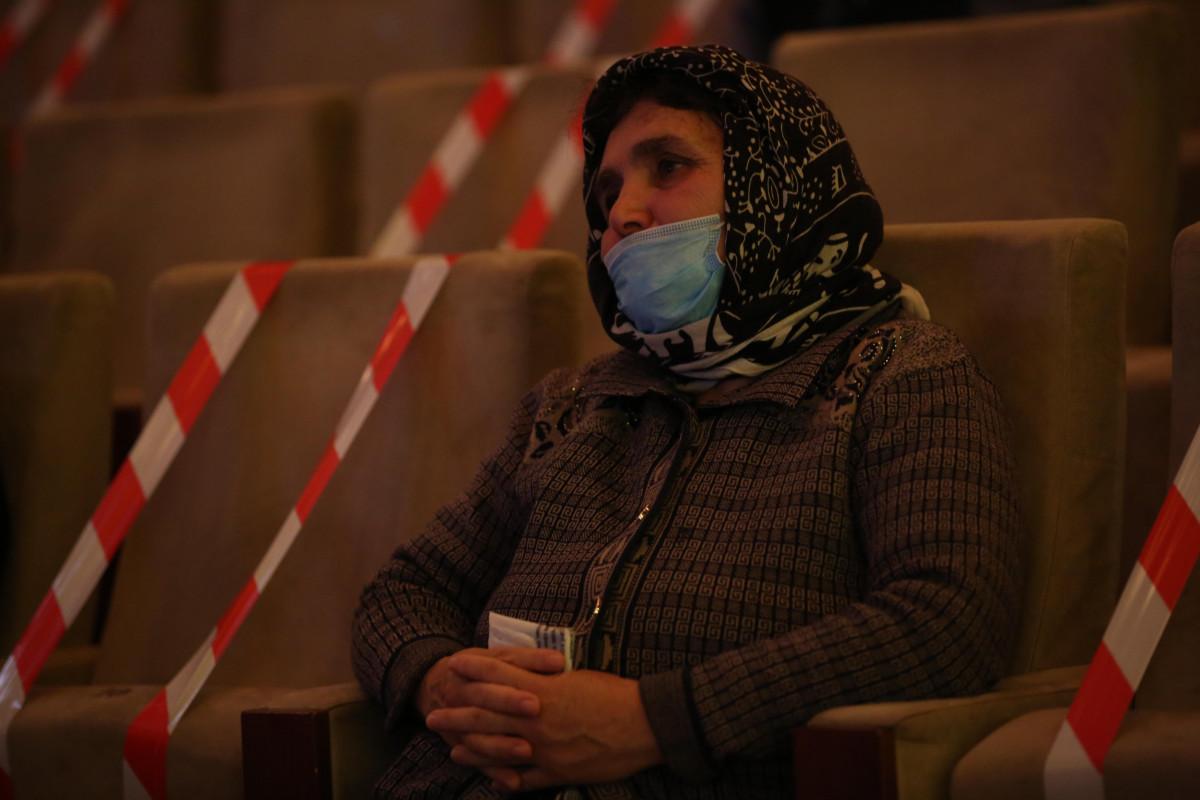 Heydər Əliyev Sarayı ilk tədbirini şəhid və qazi ailələrinə həsr edib - FOTO