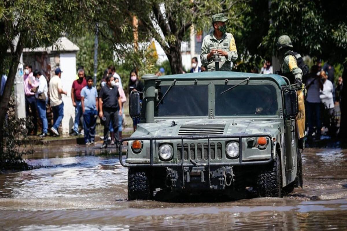 Meksikada sel nəticəsində 6 nəfər ölüb