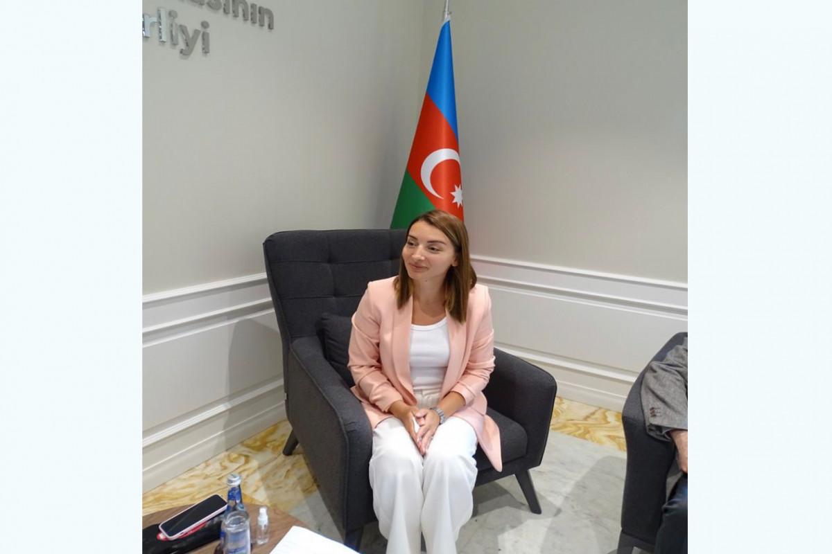 Leyla Abdullayeva Peru Jurnalistləri Federasiyasının rəsmi portalına müsahibə verib