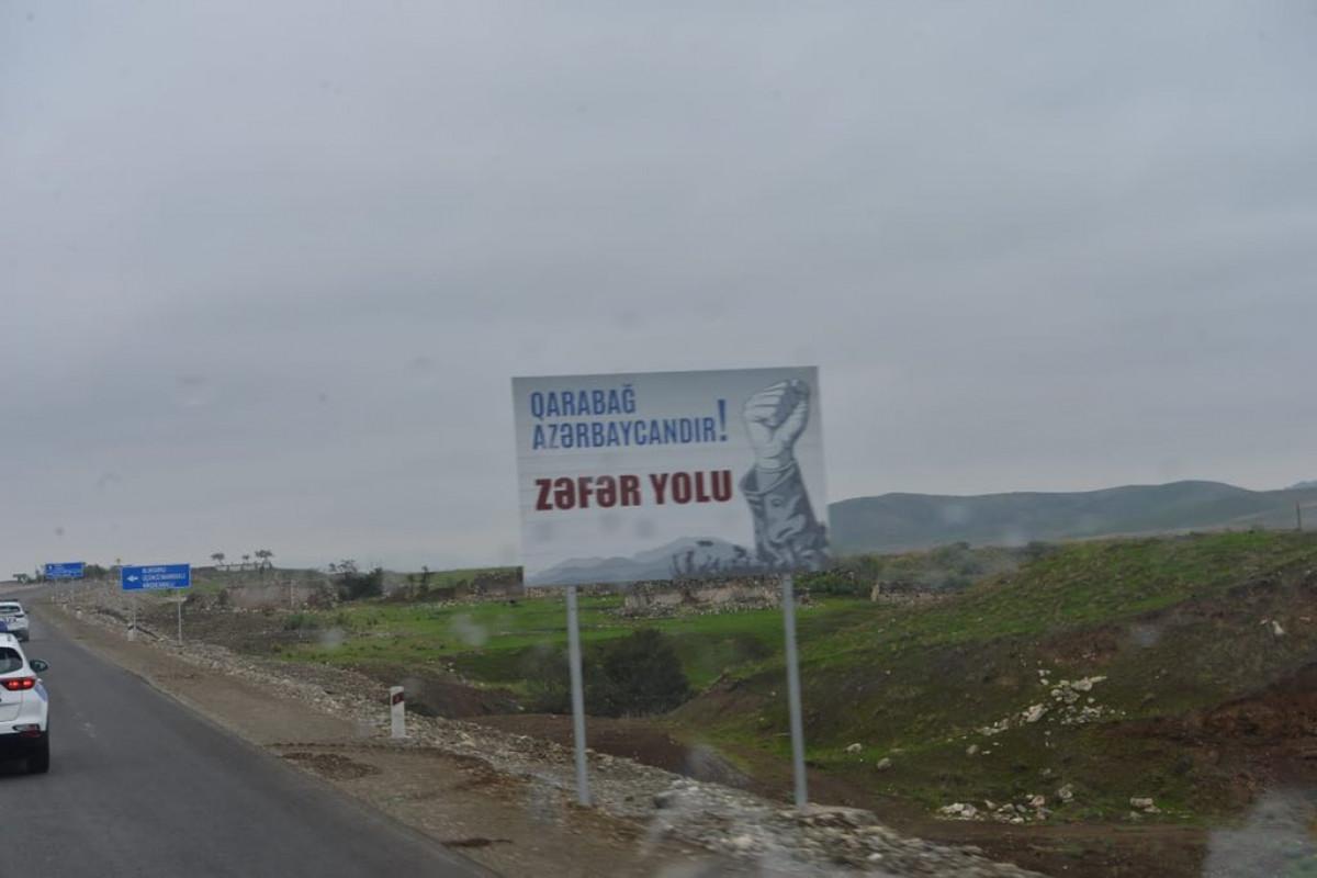Diplomatik korpusun nümayəndələrinin Şuşaya səfəri başlayıb - FOTO