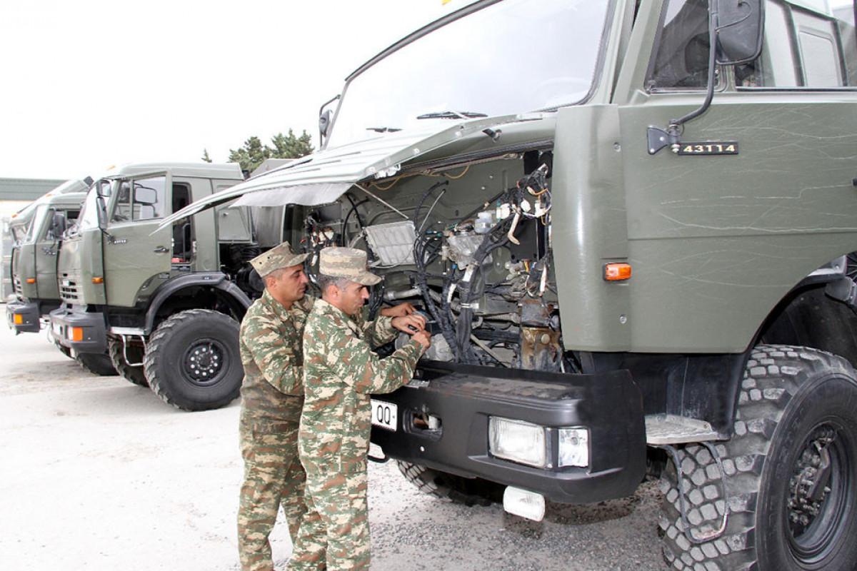 Azərbaycan Ordusunda qış mövsümünə hazırlıq prosesi başlayıb