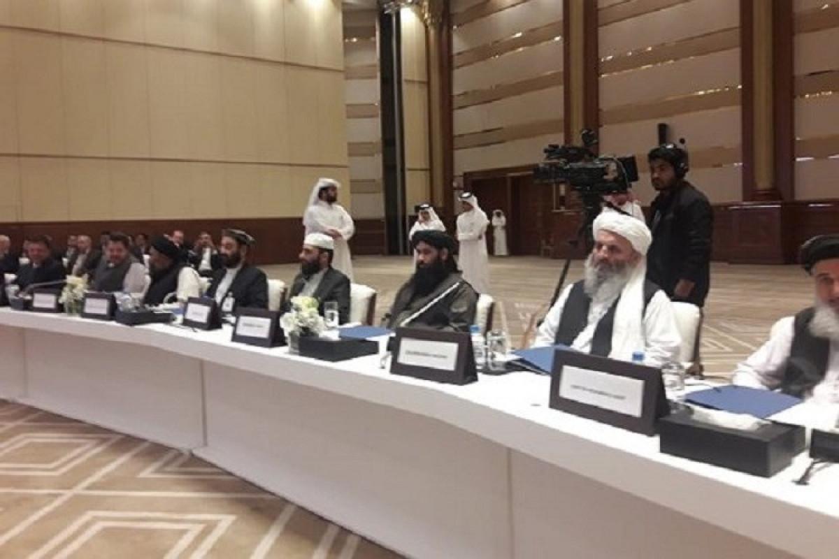 """KİV: ABŞ nümayəndə heyəti Dohada """"Taliban"""" nümayəndələri ilə görüşəcək"""