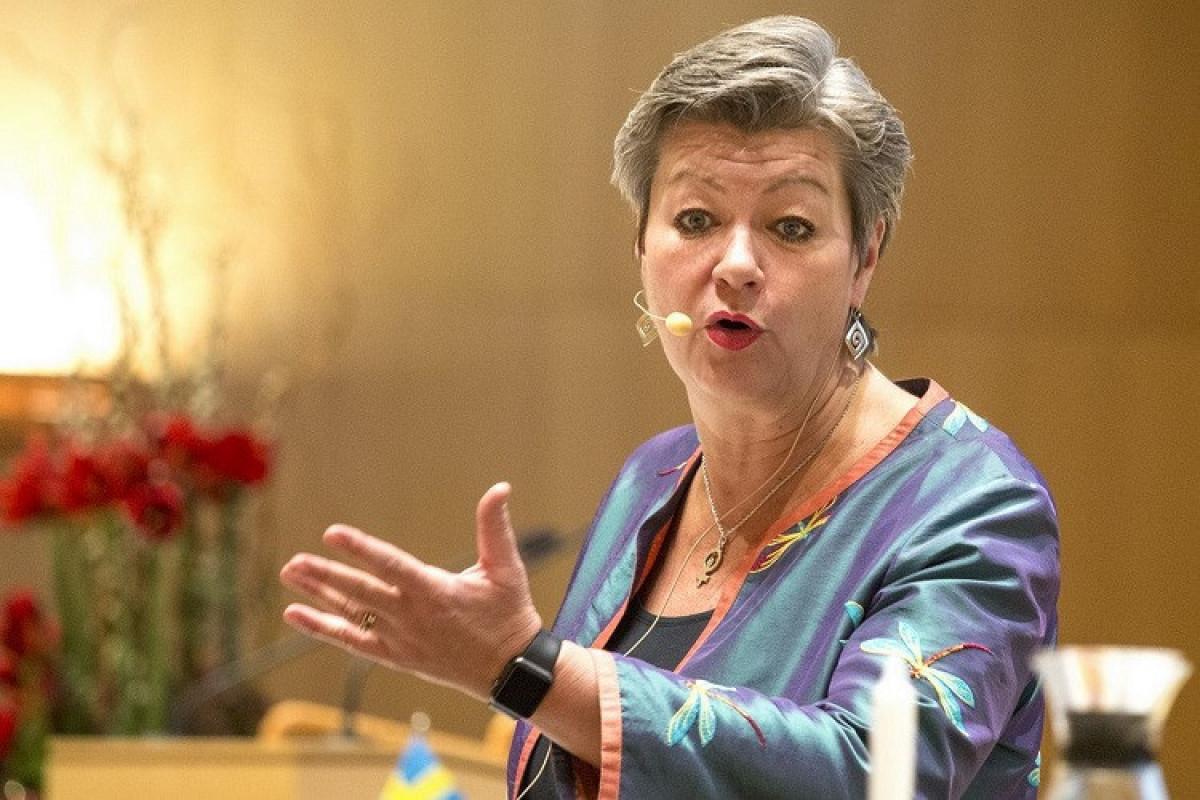 Avropa Komissiyasının daxili işlər üzrə komissarı İlva Yohansson