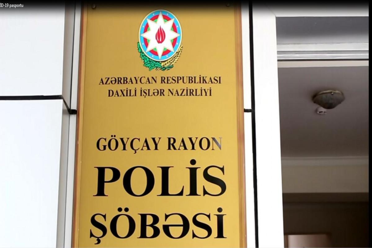 Göyçayda saxta COVID-19 pasportu satan tibb işçiləri tutulub - VİDEO