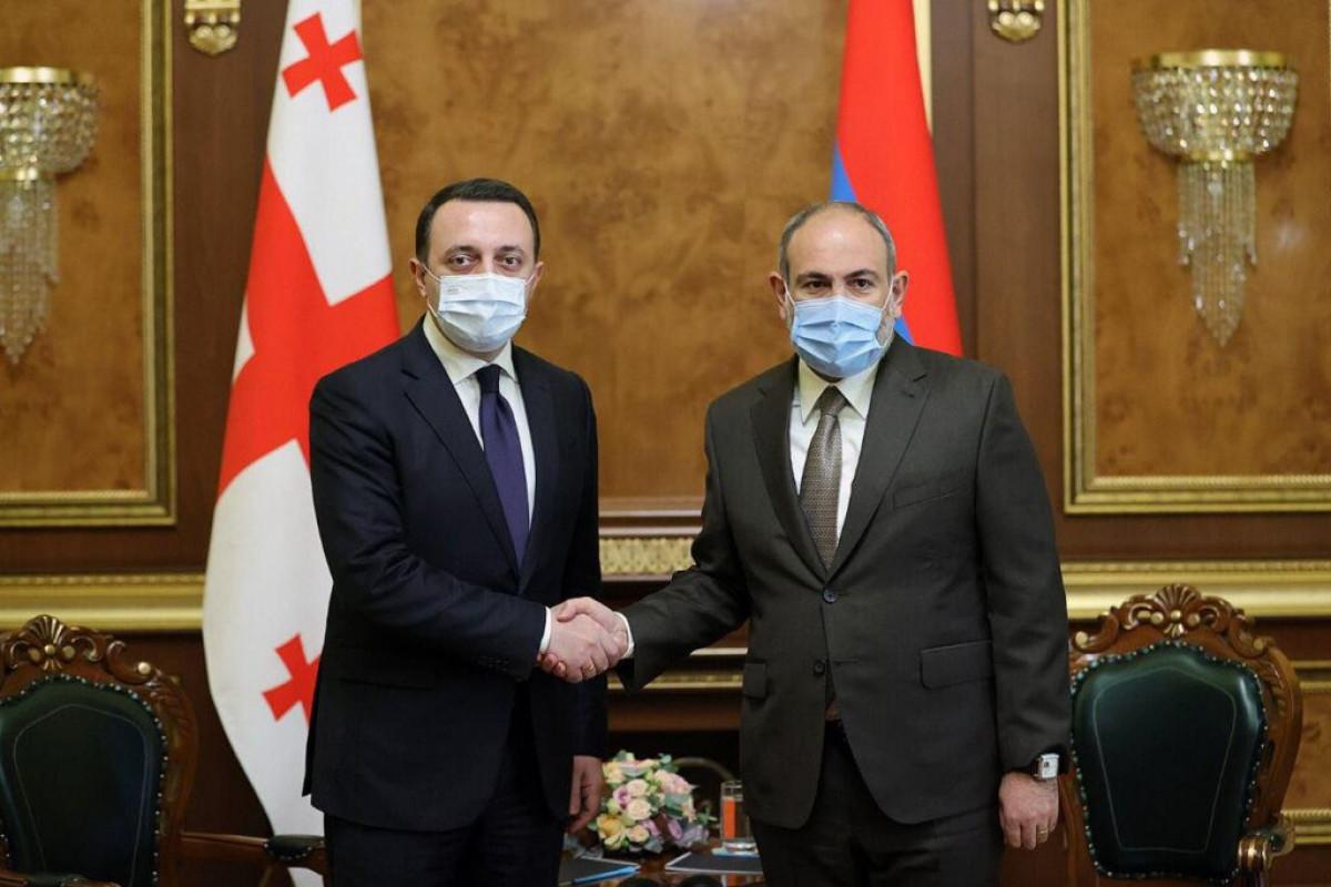 İrakli Qaribaşvili, Nikol Paşinyan