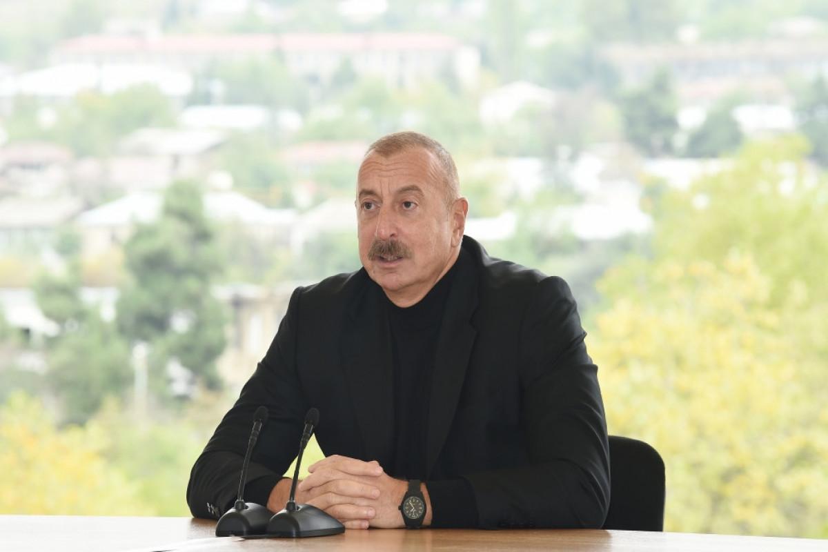 Azərbaycan Prezidenti İlham Əliyev, Xocavənd rayon ictimaiyyətinin nümayəndələri ilə görüş