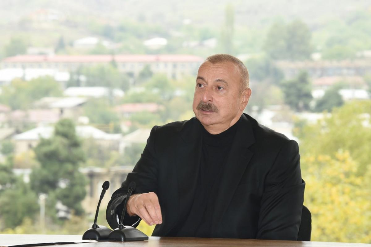 Prezident İlham Əliyev, Xocavənd rayon ictimaiyyətinin nümayəndələri ilə görüş
