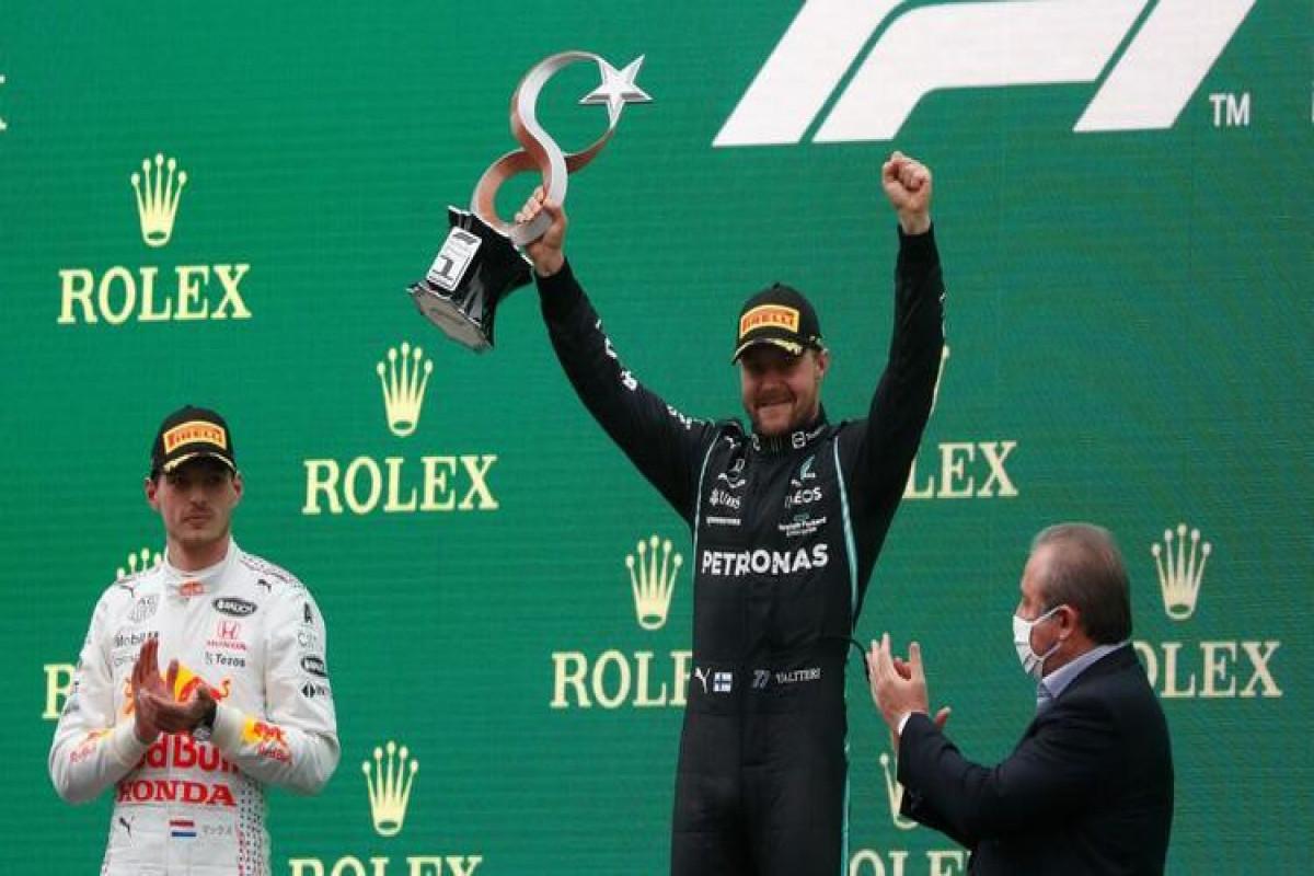 "Valtteri Bottas, ""Mercedes"" komandasının pilotu"