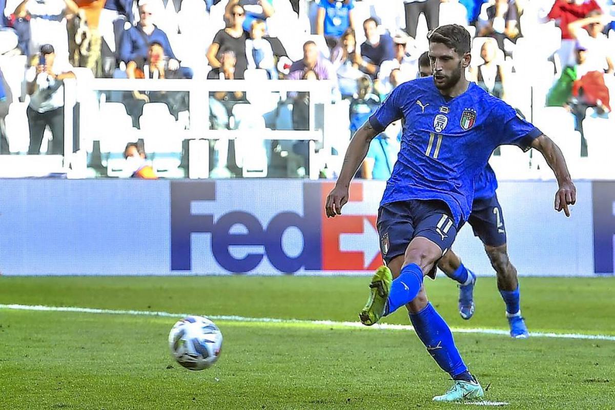 İtaliya UEFA Millətlər Liqasının bürünc mükafatçısı olub