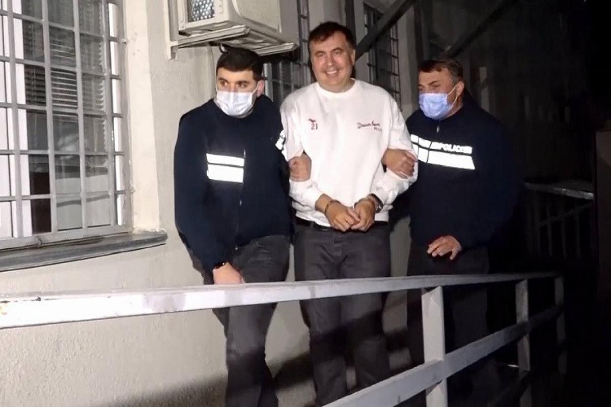 Gürcüstan Ədliyyə Nazirliyi Saakaşvilinin səhhətinin pisləşməsi ilə bağlı məlumatı təkzib edib