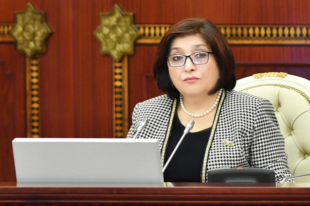 Sahibə Qafarova, Milli Məclisin sədri