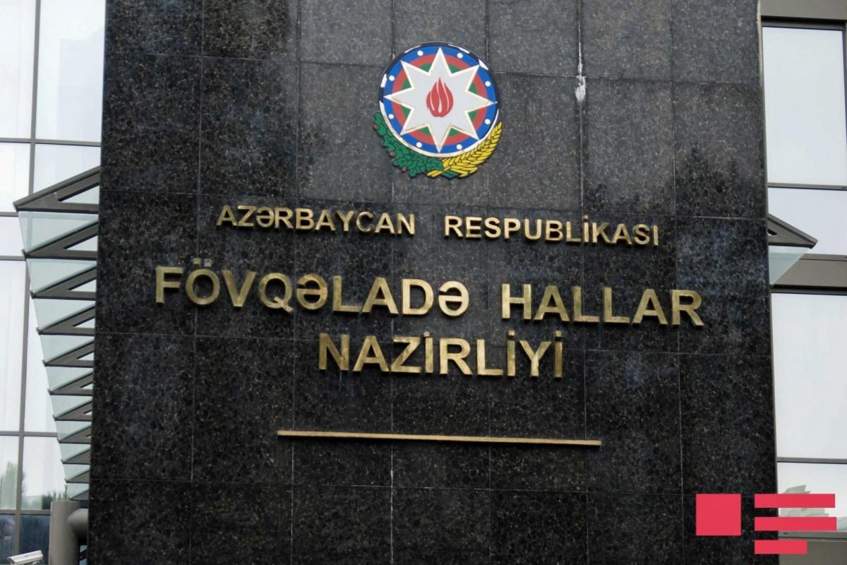 FHN: Ötən sutka 27 yanğına çıxış olub, 5 nəfər xilas edilib