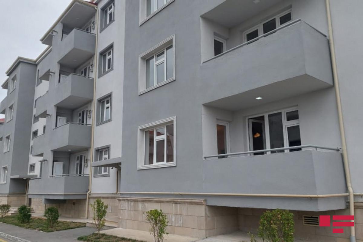 Samuxda şəhid ailələri və müharibə əlilləri üçün yeni yaşayış kompleksinin açılışı