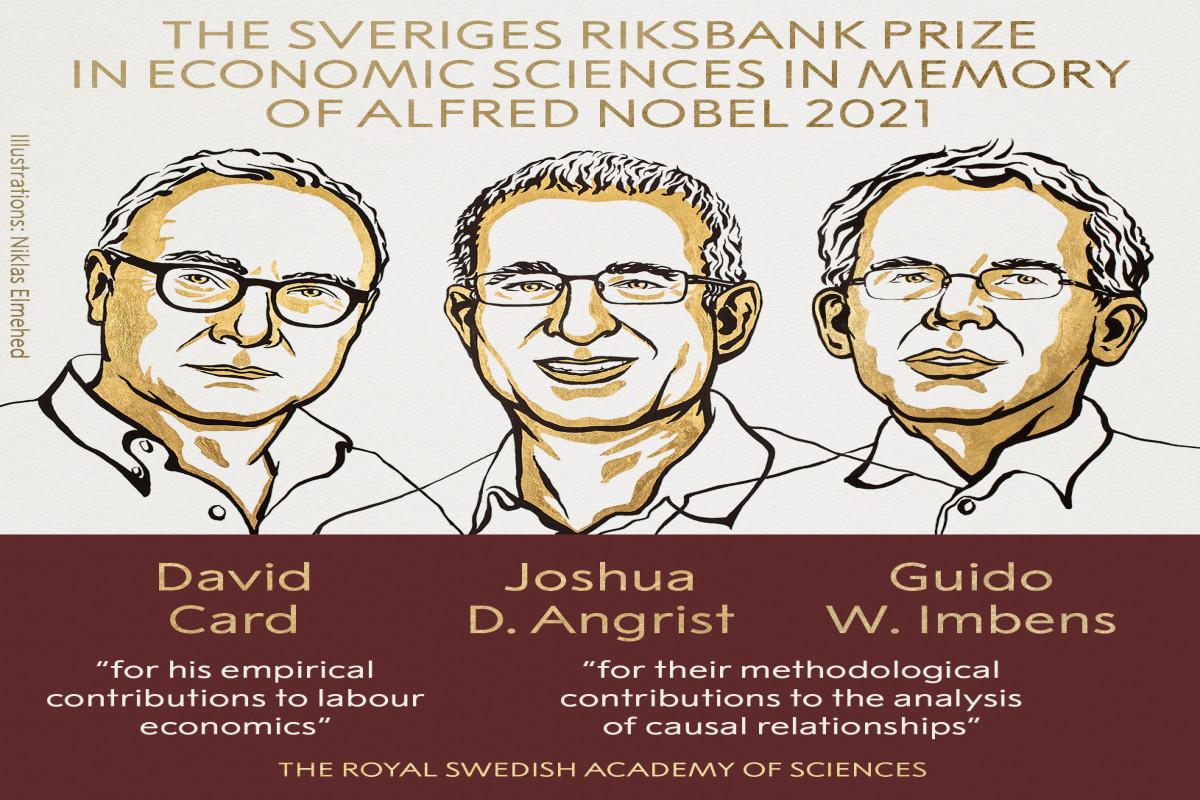 İqtisadiyyat üzrə Nobel mükafatının qalibləri açıqlanıb
