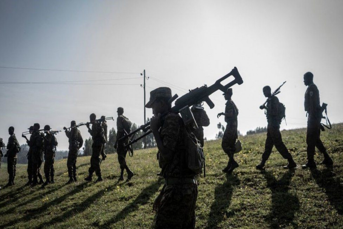Ethiopian troops launch all-out assault - rebels