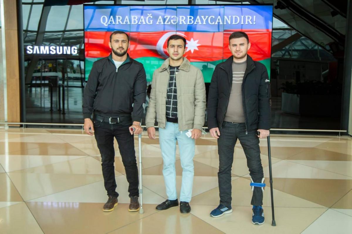 """""""YAŞAT"""" Fondu daha 4 qazini Türkiyəyə göndərib"""