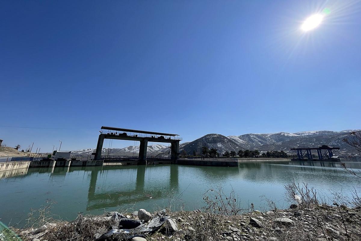 İşğaldan azad olunan ərazilərdəki su anbarlarında tikinti-bərpa işlərinə başlanılır