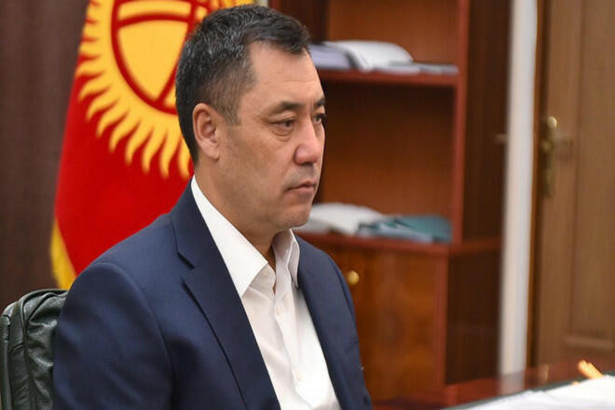 Qırğızıstan Prezidenti Sadır Japarov