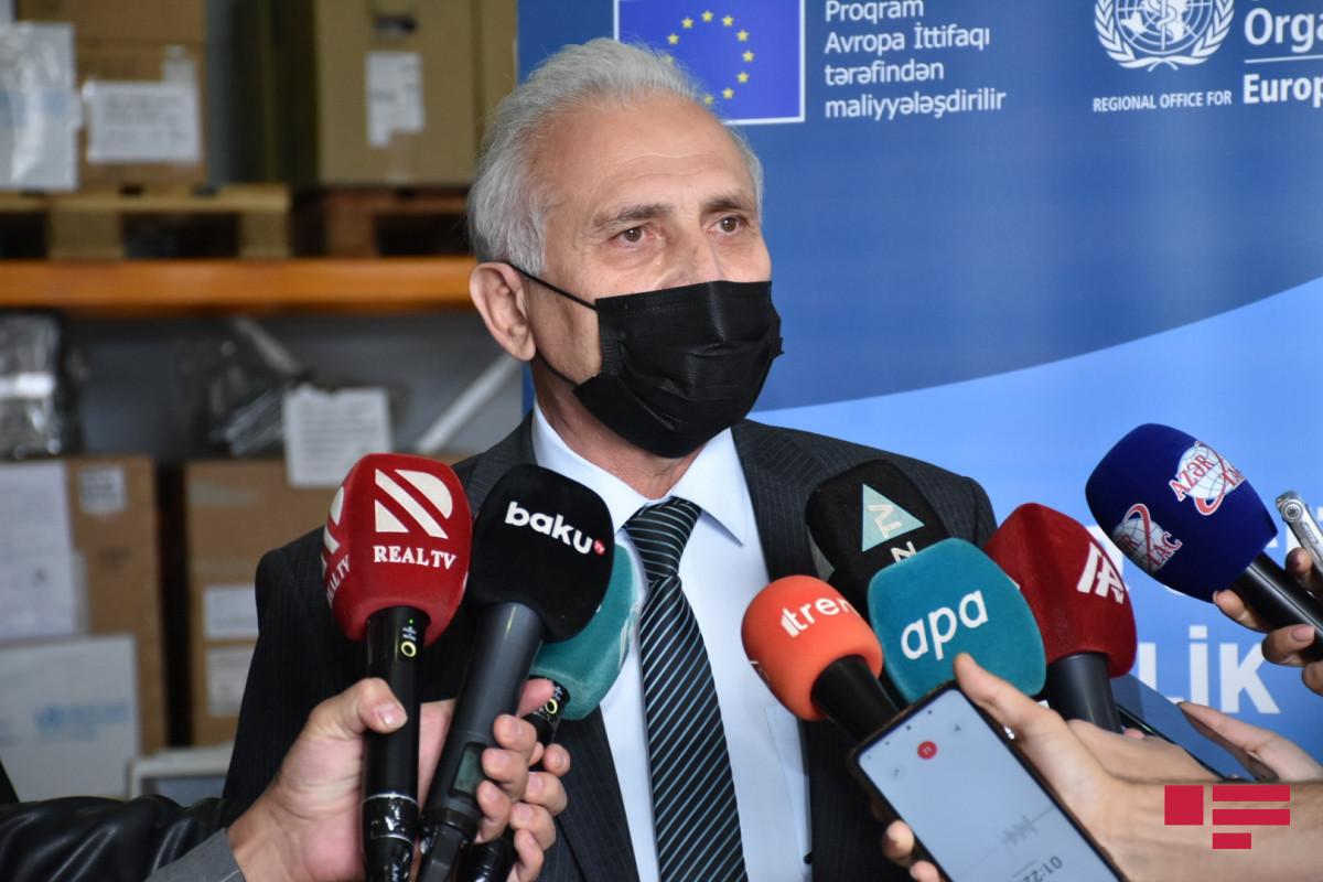 Səhiyyə nazirinin müavini Viktor Qasımov