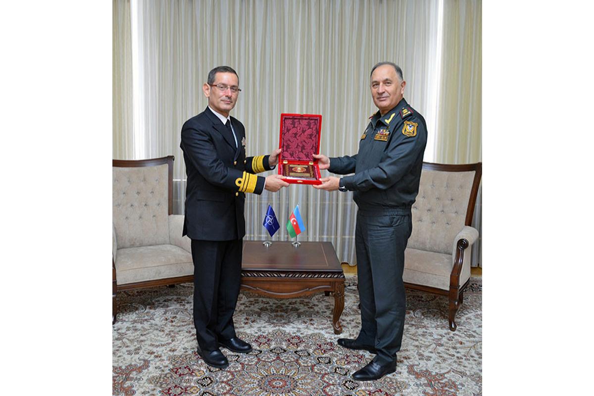 Kontr-admiral Bülent Turan,  General-leytenant Kərim Vəliyev