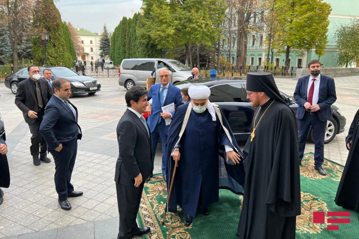Moskvada Allahşükür Paşazadə və Patriarx Kirill arasında görüş keçirilib - FOTO  - YENİLƏNİB  - VİDEO