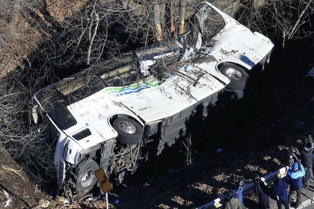 Nepalda avtobus qəzasında 28 nəfər ölüb