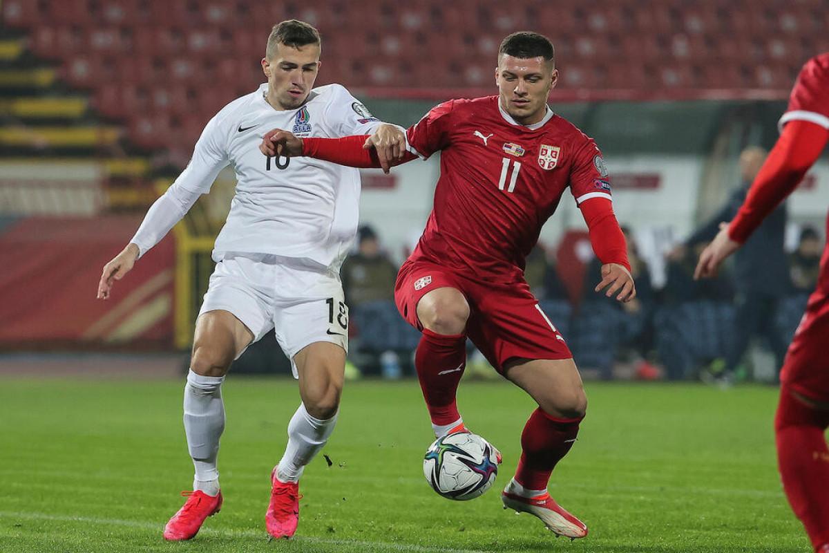 Сборная Азербайджана проиграла Сербии