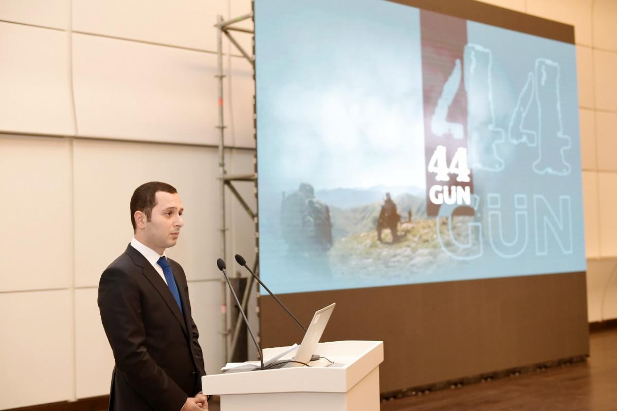 Heydər Əliyev Fondunun dəstəyi ilə hazırlanan www.44days.info portalının təqdimatı
