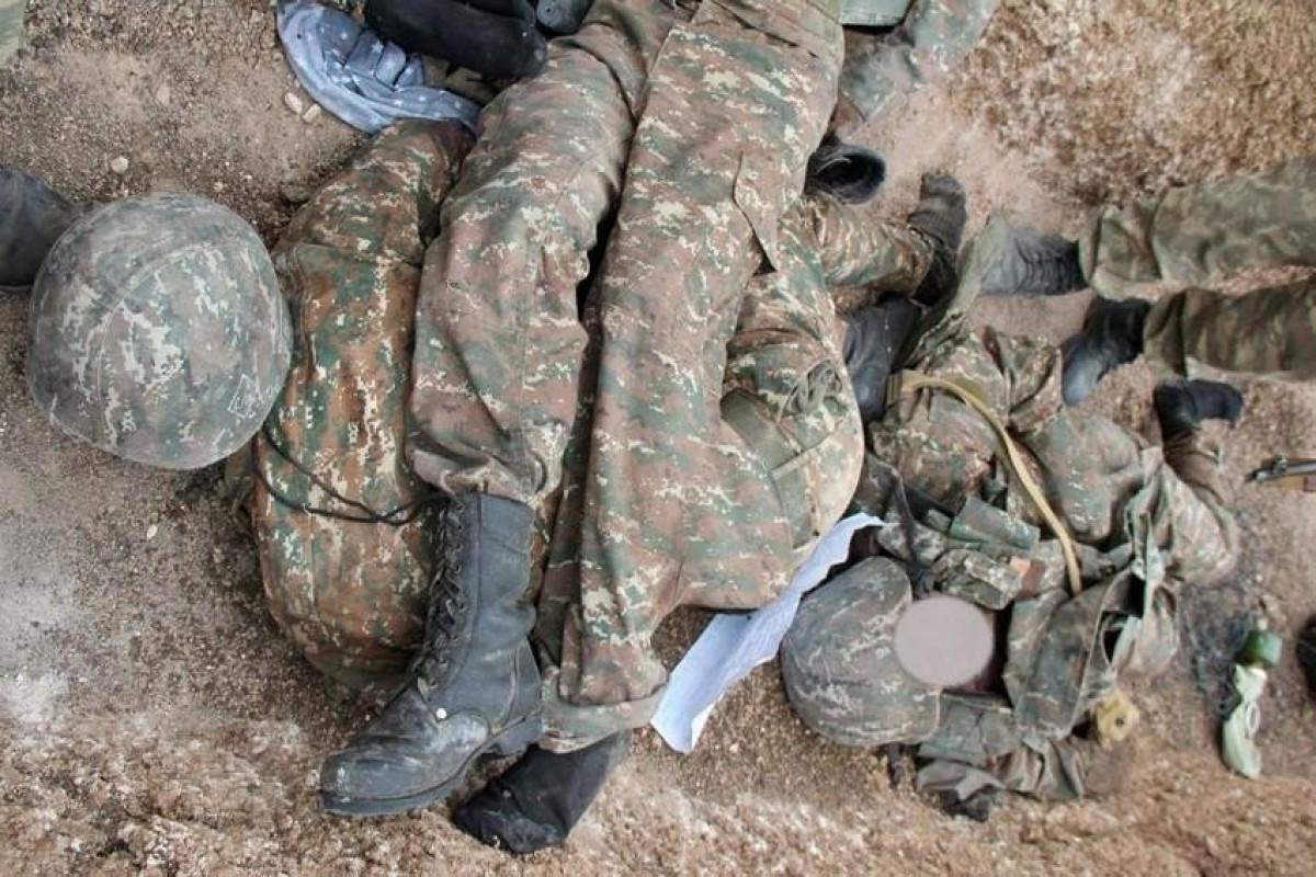 Hadrutda 2 erməni hərbçinin qalıqları tapılıb - VİDEO