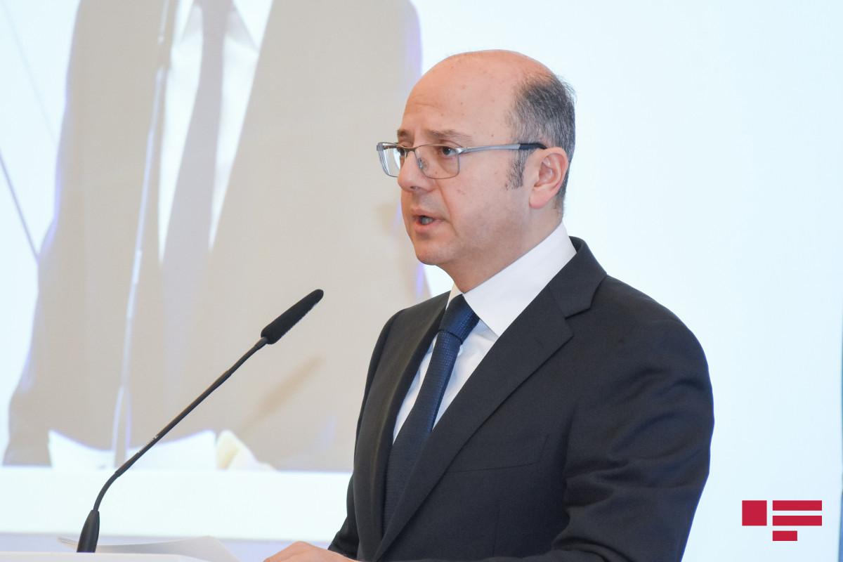 Minister of Energy Parviz Shahbazov