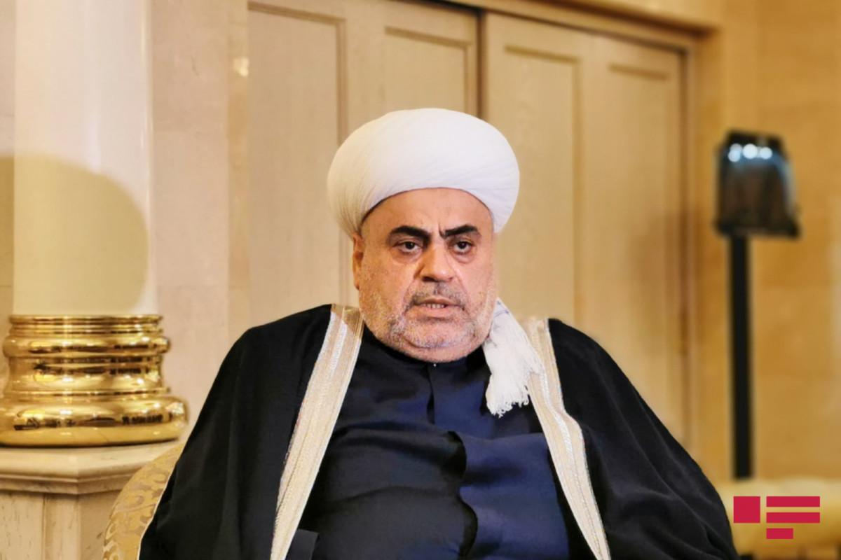 CMO chairman Allahshukur Pashazadeh