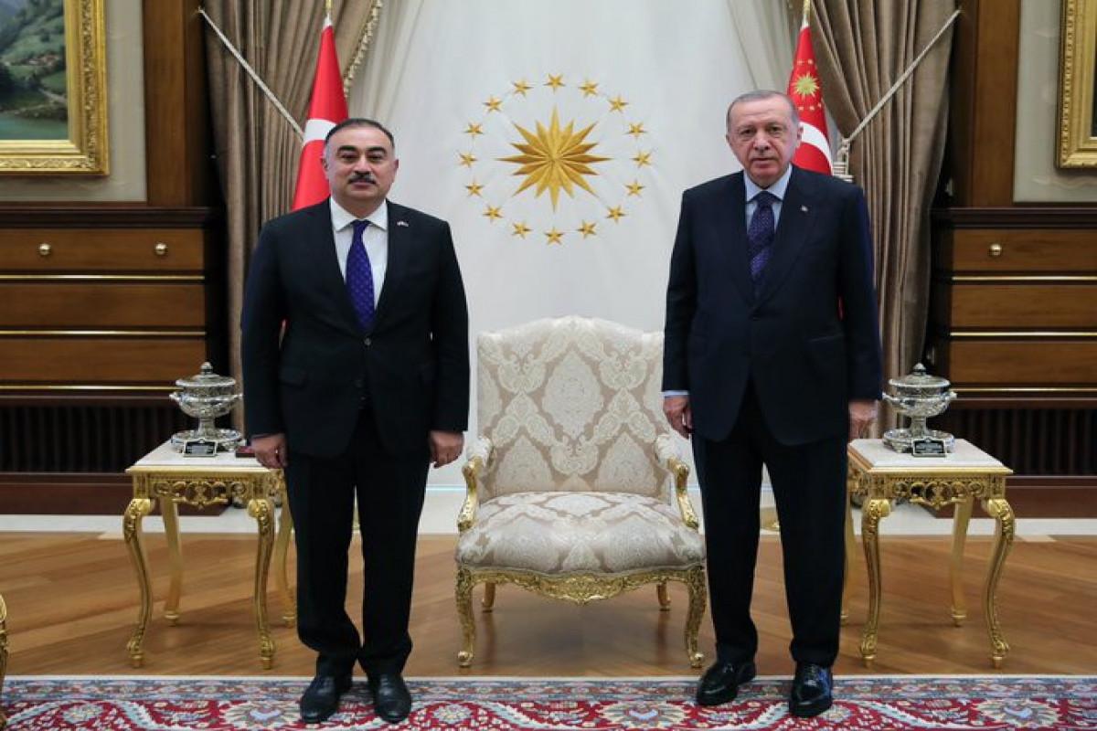 Rəşad Məmmədov, Rəcəb Tayyib Ərdoğan